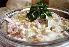Érdekel a receptje? Dip Recipes, Salad Recipes, Healthy Recipes, Healthy Food, Superfood, My Favorite Food, Favorite Recipes, Cold Dishes, Hungarian Recipes