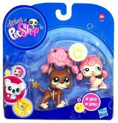Amazon.com: Littlest Pet Shop 2010 Assortment A Series 4 Collectible Figure Boxer Poodle: Toys & Games