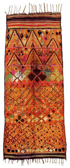 Marokkanische Teppiche aus der Sammlung Adam – Ausstellung – Die Farben des Lichts – Galerie RUMI by Reza Bonakdar