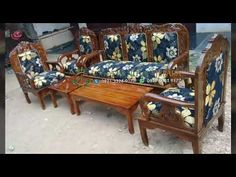 Model Paling Laris!!! 30 Model Kursi Tamu Minimalis Jati Jepara - YouTube Outdoor Furniture, Outdoor Decor, Armchair, Bench, Model, Youtube, Home Decor, Sofa Chair, Decoration Home