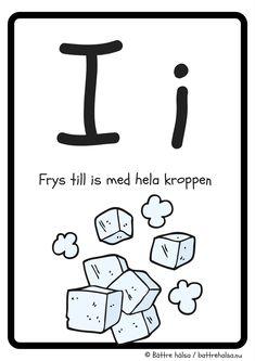 aktiviteter för barn, barnaktiviteter, pyssla och lek, knep och knåp, lära sig alfabetet, lära sig bokstaven I, röra på sig, lekar, rörelselekar