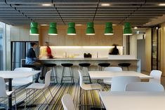 Worked on the concept- design development Aurecon office Refurbishment Sydney. Work with Futurespace