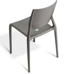 Chaise moderne en plastique pour bar restaurant - Sledge