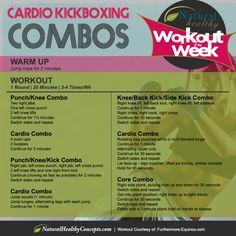 Calorie-Blasting Kickboxing Workout - 1 round - 20 minutes - 3 to 4 times a week.The Calorie-Blasting Kickboxing Workout - 1 round - 20 minutes - 3 to 4 times a week. Kickboxing Classes, Cardio Boxing, Kickboxing Workout, Kick Boxing, Kickboxing Women, Tabata, Boxercise Workout, Kickboxing Quotes, Tae Bo Workout