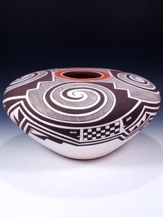 Acoma Pueblo Hand Coiled Pottery    by Cletus Victorino