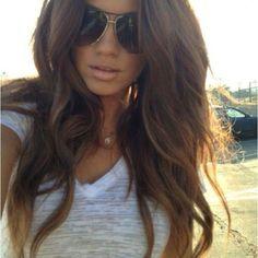 Perfect hair...