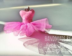 Handmade by Glenda Muriel Ballerina Tutu, Handicraft, Create Yourself, Hot Pink, Etsy Seller, Perfume Bottles, Jewelry Making, Creative, Handmade