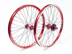 20inch wheelset red