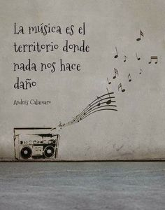 La música es*... Music Quotes, Words Quotes, Wise Words, Life Quotes, Sayings, Music Love, Music Is Life, My Music, Mots Forts