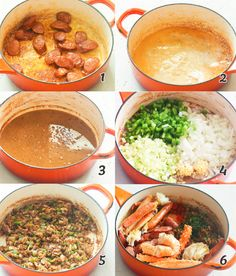 Seafood Gumbo - Immaculate Bites Dinner Veggie Recipes, Seafood Recipes, Appetizer Recipes, Healthy Recipes, Healthy Meals, Gumbo File, Lemon Pepper Salmon, Seafood Gumbo, Southern Dishes