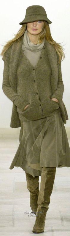 Ralph Lauren steht auf Olivgrün :)  (Farbpassnummer 6) Kerstin Tomancok / Image Consulting