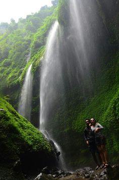 Madakaripura waterfall, indonesia