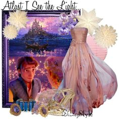 """Disney Style : Atlast I See the Light."" by - Prom is near and I want to wear somethin Disney! Disney Character Outfits, Disney Themed Outfits, Character Inspired Outfits, Disney Bound Outfits, Disney Prom Dresses, Dress Prom, Trendy Dresses, Nice Dresses, Disney Inspired Fashion"