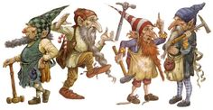 Gnome Gongress Gembers are challenged daily to 'work things out.'