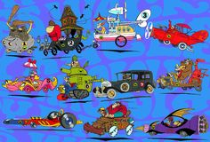 Hanna-Barbera Cartoons 1960S | Wacky Races is a Hanna Barbera cartoon animated television series ... ✤ || CHARACTER DESIGN REFERENCES | キャラクターデザイン | çizgi film • Find more at https://www.facebook.com/CharacterDesignReferences & http://www.pinterest.com/characterdesigh if you're looking for: bandes dessinées, dessin animé #animation #banda #desenhada #toons #manga #BD #historieta #sketch #how #to #draw #strip #fumetto #settei #fumetti #manhwa #cartoni #animati #comics #cartoon || ✤