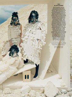 """Forces of Fashion"" Vogue US September 2015"