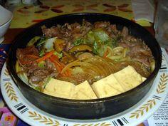 Delicious Japanese food recipes@ Oishi Ryouri: Beef Sukiyaki- Japanese food recipe from Oishi Ryori