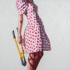 High fashion juxtaposed with power tools to flip gender stereotyping on its head   Creative Boom
