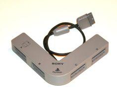 Original Sony Playstation Multitap-4 Spieler Adapter für PS1