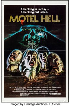 Movie Posters:Horror, Motel Hell (United Artists, 1980). International O...
