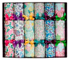 The 20 Best Christmas Crackers for 2012 via WeeBirdy.com. #Crackers #Christmas #Liberty