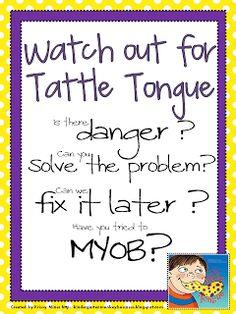 New Tattle Tongue Poster Freebies