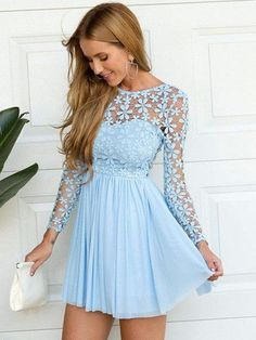 Cheap Sexy Backless Embroidery Lace Stitching Chiffon Dress For Big Sale!Sexy Backless Embroidery Lace Stitching Chiffon Dress, embroidery lace top stitching with chiffon dress, special and sweet. Prom Dresses 2015, Unique Prom Dresses, Sexy Dresses, Cute Dresses, Beautiful Dresses, Casual Dresses, Fashion Dresses, Summer Dresses, Chiffon Dresses