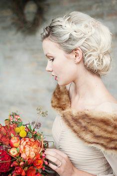 Autumn bride—magnolia rouge | 10 fall wedding looks for the autumn bride