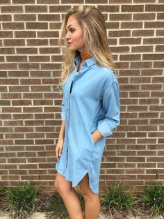 Denim Dreamer Tunic Dress