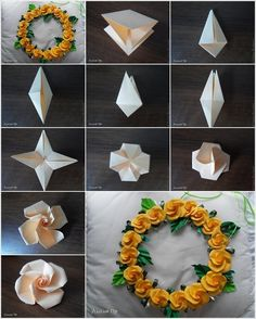 These Origami Roses Are So Beautiful And Imaginative - http://www.decoratingo.com/these-origami-roses-are-so-beautiful-and-imaginative/ #HomeDesigning