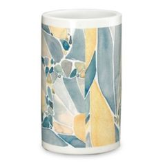 Designer Shell Rummel Butterfly Bath collection ~ Tumbler