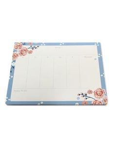 Desk Planner Pad