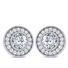 Prima Solitaire Earring Diamond Solitaire Earrings, Jewellery, Jewels, Engagement Rings, Enagement Rings, Wedding Rings, Jewerly, Schmuck, Diamond Engagement Rings