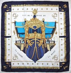 83e3076aeb054 Hermes silk scarf in the classic