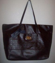 Tommy Hilfiger  X-Large  Tote Shopper Purse Handbag NWT #TommyHilfiger #TotesShoppers