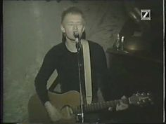 Blame it on the black star Blame it on the falling sky Blame it on the satellite That beams me home♪   (Acoustic version of Black Star at Restaurang Två Plan in Stockholm, Sweden, April 20th 1995).  Thom Yorke