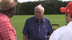 awesome Marshall Faulk Is Swinging Like Shaq - Tiger Woods Golf 14