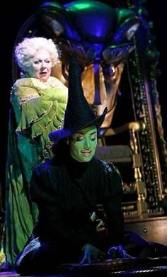 Wicked the musical! Wicked Musical, Broadway Wicked, Broadway Theatre, Wicked Witch, Broadway Shows, Theatre Nerds, Music Theater, The Witches Of Oz, Land Of Oz