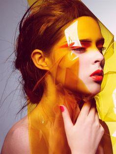 """Morning Beauty"" | Model: Coco Rocha, Photographer: Craig McDean, W Magazine, October 2006"