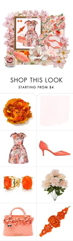 """Flower Power"" by kitty-hiruma on Polyvore featuring MSGM, L.K.Bennett, Bling Jewelry and Betsey Johnson"