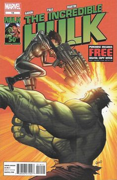 Hulk United: Part 2 ....Written By Jason Aaron , Art Jefte Palo , Cover Art Greg Land, Hulk: United continues. Hulk wants a piece of Doom but first he's got to get through the Mad Squad!