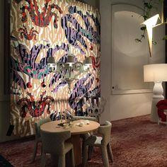 Snapshot of Octocorallia carpet for #moooi #moooicarpets at #salonedelmobile via Savona 56 Milano #kustaasaksi by kustaasaksi