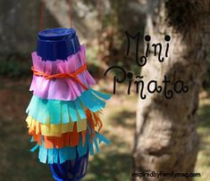 Mexican Christmas Traditions, Activities and Food Ideas Christmas Around the World: Mexico Pinata ornament<br> Mexican Christmas Traditions, Activities and Food Ideas: Your children can learn about our Mexican Christmas traditions and activities. Mini Pinatas, Around The World Theme, Celebration Around The World, Holidays Around The World, Christmas Crafts Around The World, Christmas Activities For Kids, Preschool Christmas, Crafts For Kids, Dyi Crafts