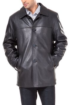 SAM Mens Gents Grey Fitted Casual Retro Classic Biker Rock Nappa Leather Jacket