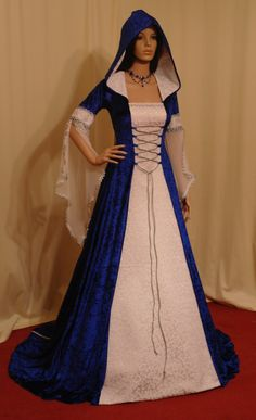medieval handfasting renaissance dress custom made on Etsy, $266.00