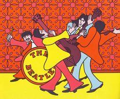 We Love You, Beatles: Vintage Children's Illustration Circa 1971 | Brain Pickings