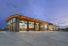 |TCA Architecture Planning| The Spokane International Airport Fire Station (ARFF), LEED Silver, Sustainable