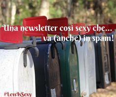 2015, seconda NL con l'ebook: una newsletter così sexy che va (anche) in spam, offerte, promozioni, posta indesiderata... #LessIsSexy #newsletter #CapitaleUmano @LessIsSexy