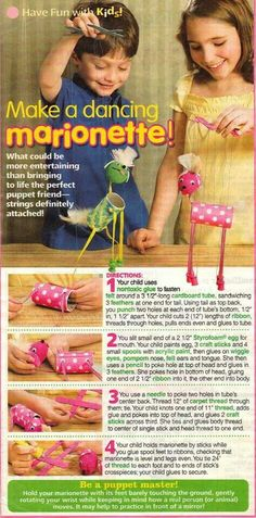 party Make toilet roll marionette puppets! Craft Activities For Kids, Projects For Kids, Diy For Kids, Cool Kids, Crafts For Kids, American Heritage Girls, Puppet Crafts, Toilet Paper Roll Crafts, Camping Crafts