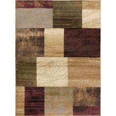Tayse Rugs Elegance Multi 9 ft. 3 in. x 12 ft. 6 in. Indoor Area Rug-5210 Multi 9x13 - The Home Depot